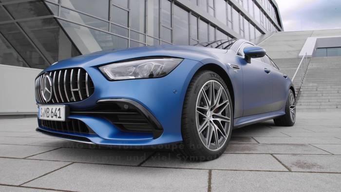 News video: Der neue Mercedes-AMG GT 53 4MATIC+ - Das Design