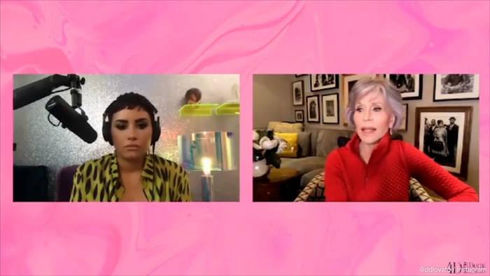 News video: Jane Fonda: Demi Lovato brachte sie zum Weinen