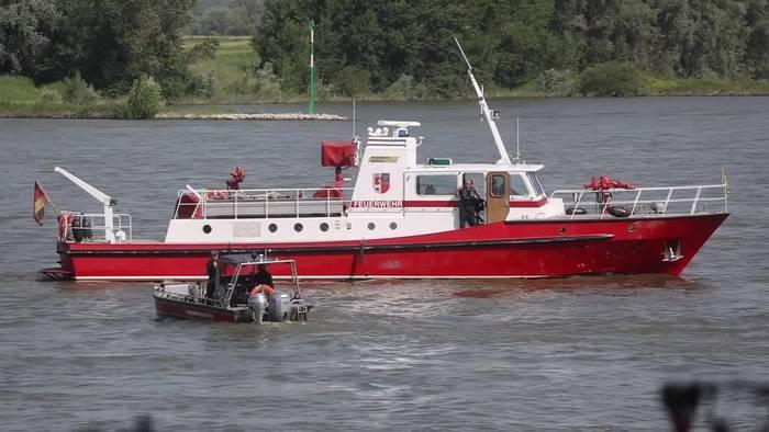 News video: 17-Jährige im Rhein ertrunken - wenig Hoffnung für zwei