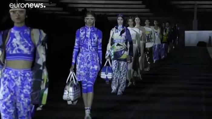 News video: Ein Hauch Antike: Dior feiert Fashion-Comeback in Athen
