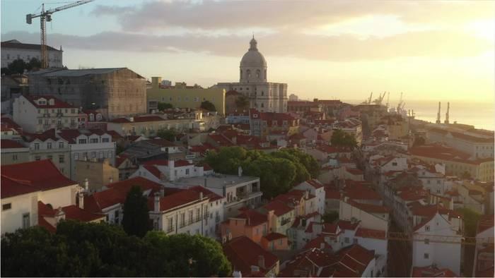 News video: Steigende Corona-Zahlen: Lissabon wird abgeriegelt