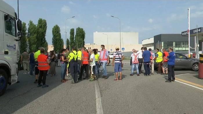 News video: Italien: Gewerkschaftler bei Unfall getötet