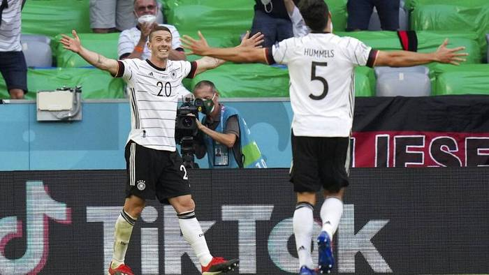 News video: EURO 2020: Deutschland gewinnt gegen Portugal - Frankreich unentschieden gegen Ungarn
