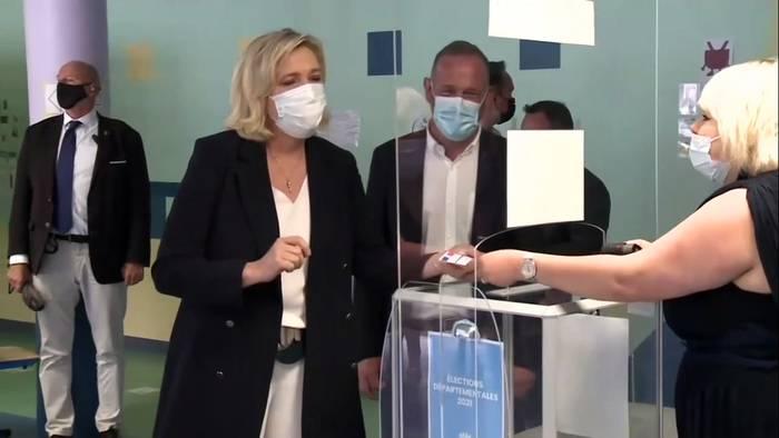 News video: Erste Runde der Regionalwahl: Kann Le Pen erstmals gewinnen`?