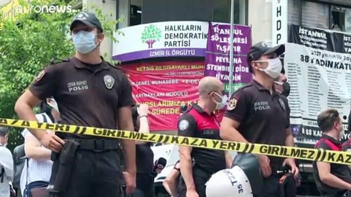 News video: Türkei: Verfassungsgericht akzeptiert Verbotsklage gegen HDP