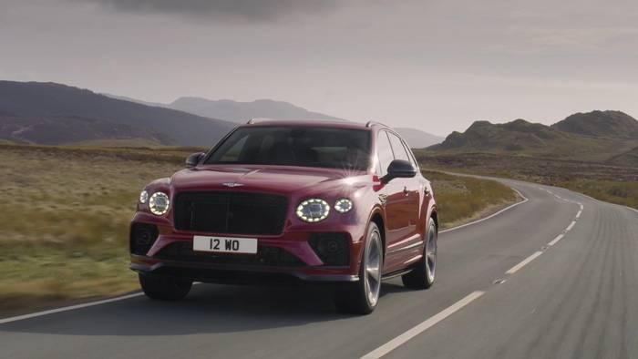 News video: Der neue Bentley Bentayga S Highlights