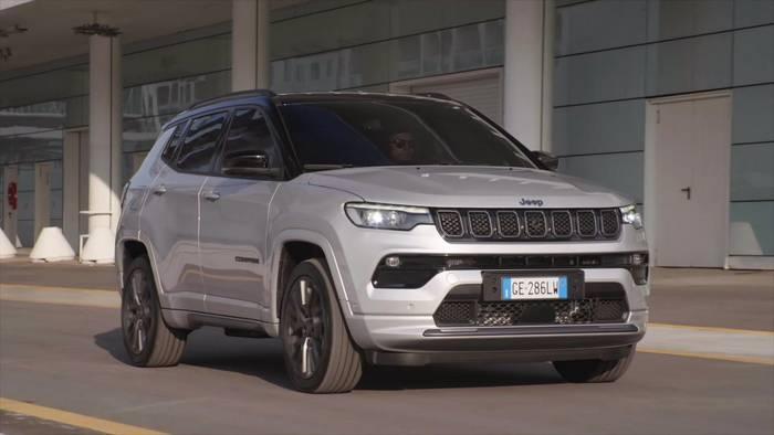News video: Der neue Jeep Compass - Sicherheits-Systeme der neuen Generation
