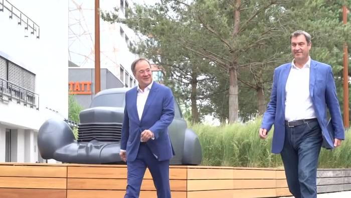 News video: Keine Steuererhöhungen: CDU und CSU stellen Wahlprogramm vor