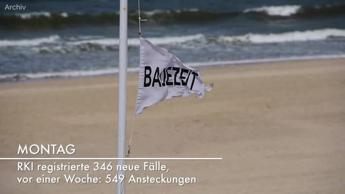 News video: Corona-Lage in Deutschland: RKI-Lagebericht vom 21. Juni