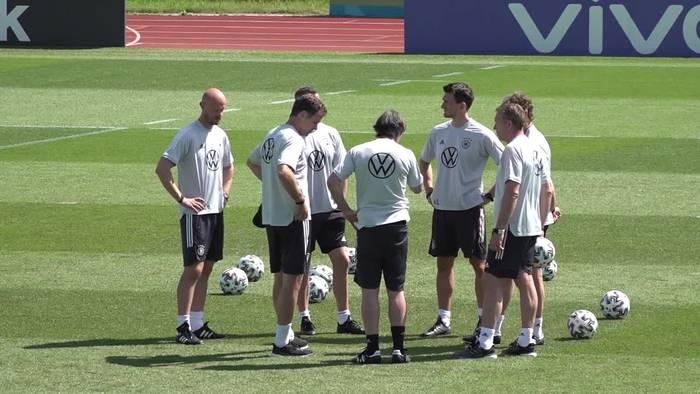 News video: Entscheidendes Spiel gegen Ungarn: Müller-Einsatz fraglich
