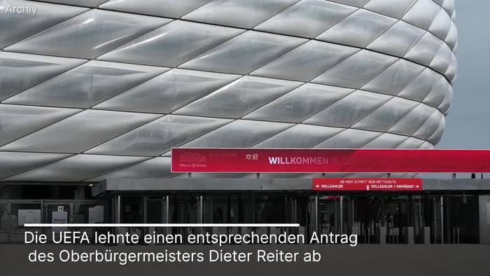 News video: München: EM-Stadion ohne Regenbogenfarben