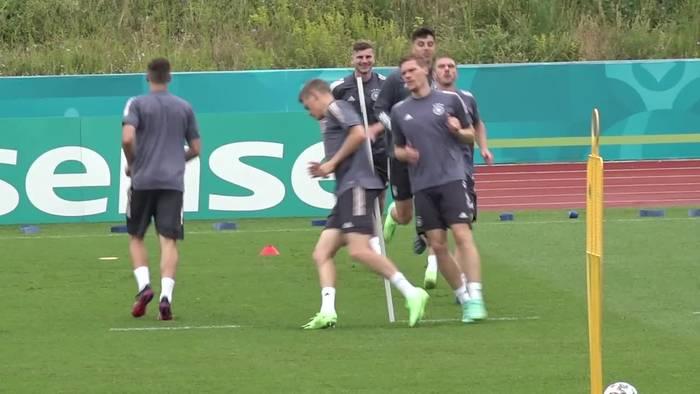 News video: DFB-Elf will gegen Ungarn ins Achtelfinale