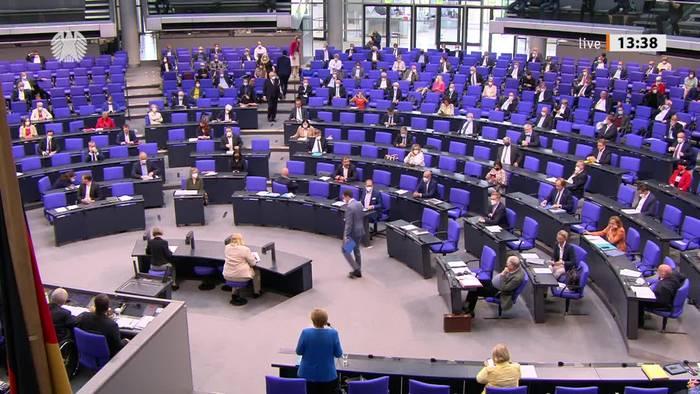 News video: Merkel warnt vor Corona-Rückschlägen wegen Delta-Variante