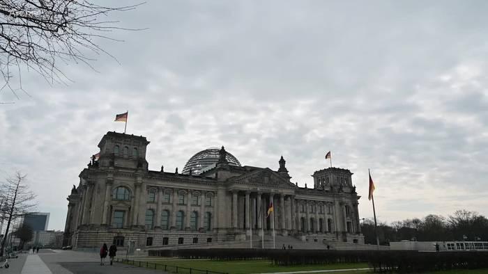 News video: Merkels wohl letzte Regierungserklärung im Bundestag