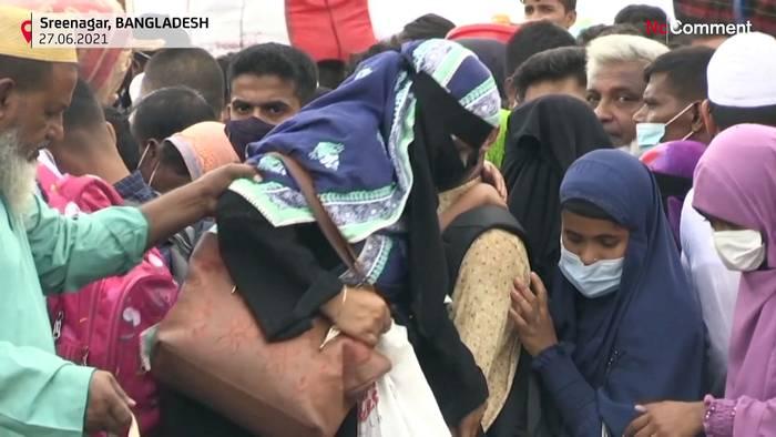 Video: Warum tausende Wanderarbeiter in Bangladesch Hals über Kopf weggehen