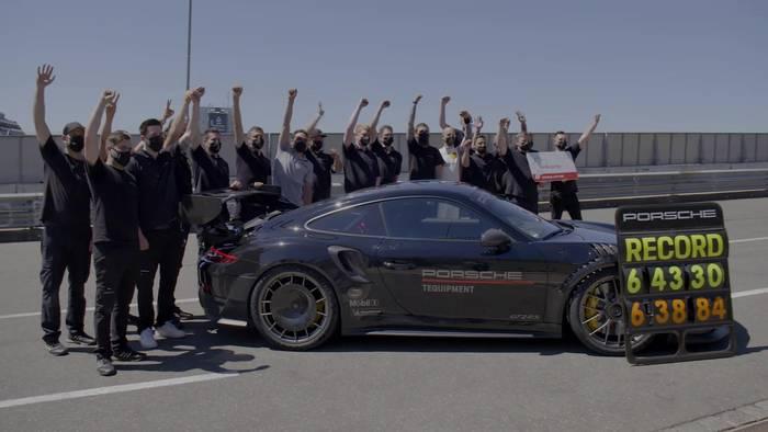 Video: Porsche 911 GT2 RS mit Manthey Performance-Kit auf der Nürburgring-Nordschleife