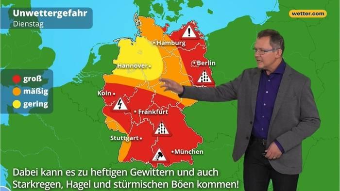 News video: Die schlimmsten Unwetter des Jahres: Hier wird es gefährlich