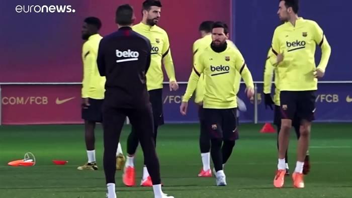 News video: Neuer Rekord, aber weder Verein noch Vertrag: Was wird aus Lionel Messi?