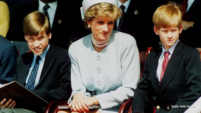 News video: Lady Diana: Prinz William & Prinz Harry ehren sie mit Statue