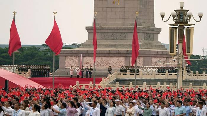 News video: Chinas Kommunisten feiern Geburtstag - und vor allem sich selbst
