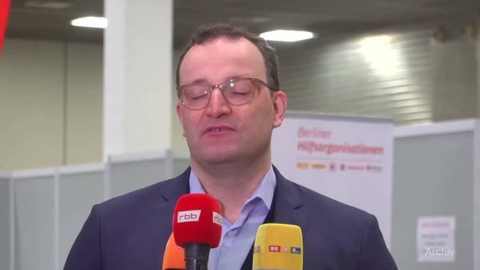 News video: Spahn wirbt für Astrazeneca plus Biontech oder Moderna