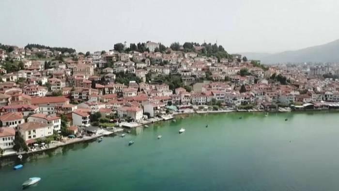 News video: Unesco will Ohridsee als gefährdetes Welterbe einstufen