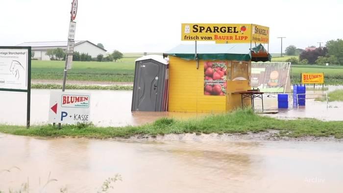 News video: Wetterdienst warnt vor Gewittern und Starkregen am Sonntag
