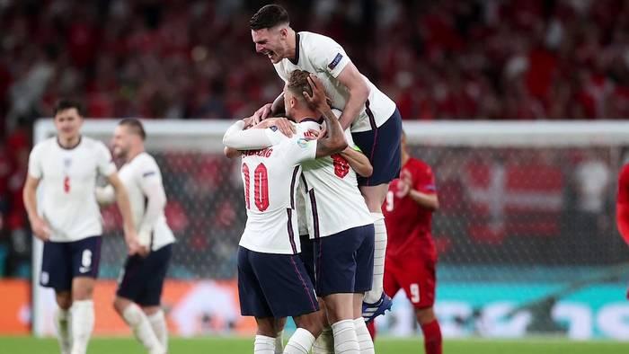 News video: Euro 2020: Nach Sieg gegen Dänemark ist England im Finale der EM