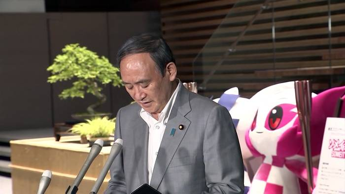 News video: Olympia 2021 in Tokio wegen Corona-Notstand ohne Zuschauer