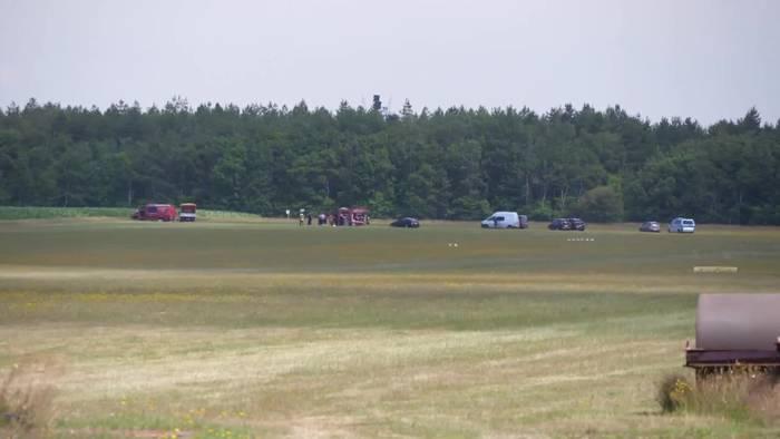 News video: Sportflugzeug bei Cuxhaven abgestürzt - zwei Tote