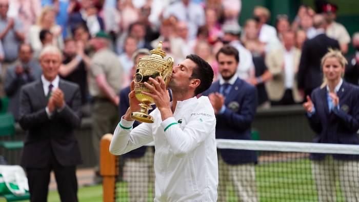 News video: Novak Djokovic gewinnt zum 6. Mal Tennis-Turnier von Wimbledon