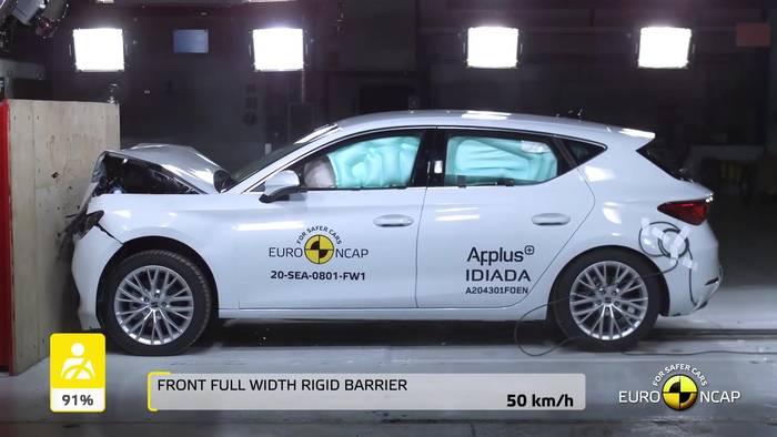 Video: Euro NCAP - fünf Sterne für den CUPRA Leon