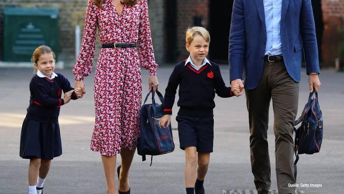 Video: Prinz George: Nie wieder in Kniestrümpfen?