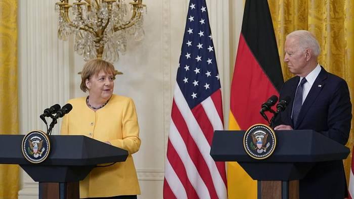 News video: Merkel in den USA: Meinungsverschiedenheiten unter Freunden