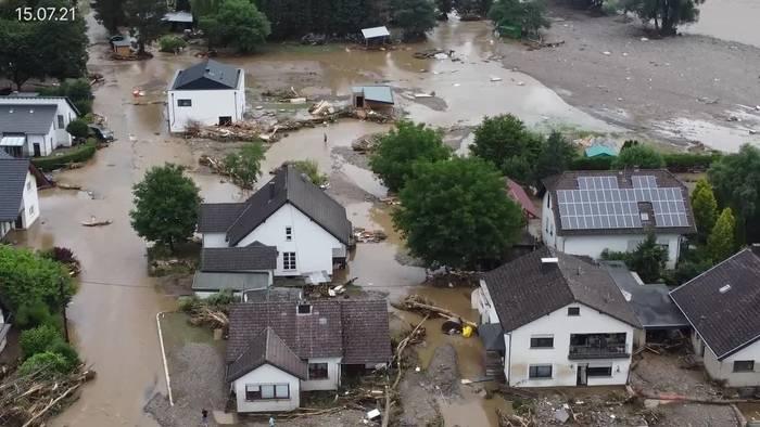 News video: Mehr als 105 Tote bei Flutkatastrophe