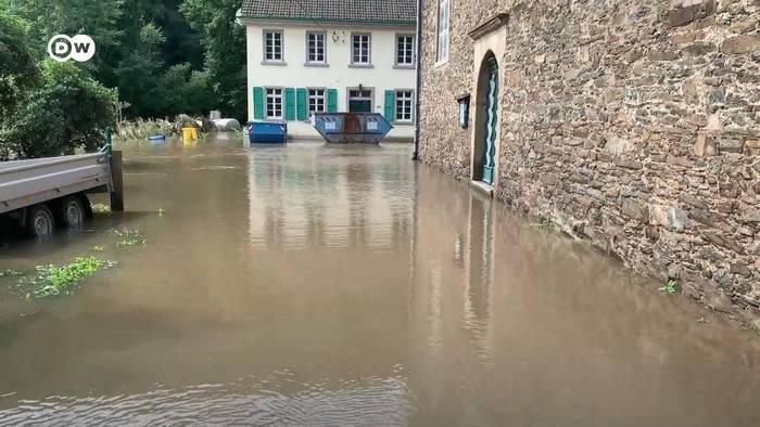 News video: Solingen: Starke Flutschäden an historischer Kirche