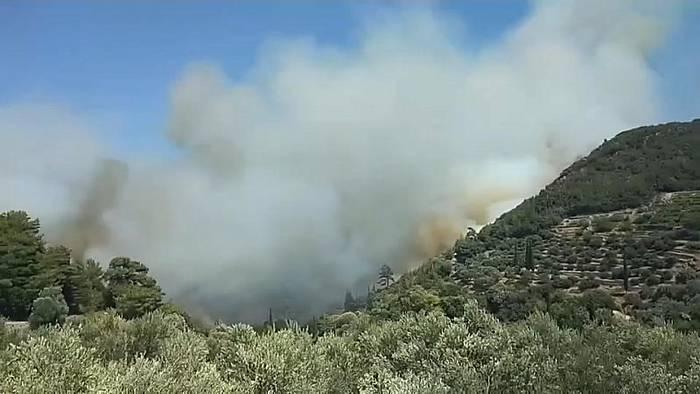 News video: Griechenland: 51 Brände in 24 Stunden
