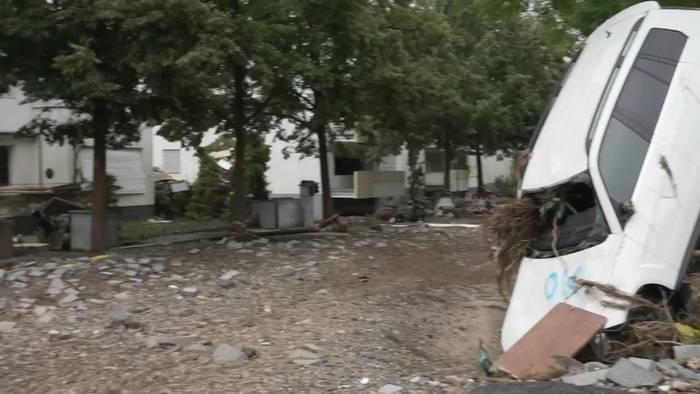 News video: Hochwasserkatastrophe: Unwetter auch in Bayern und Sachsen