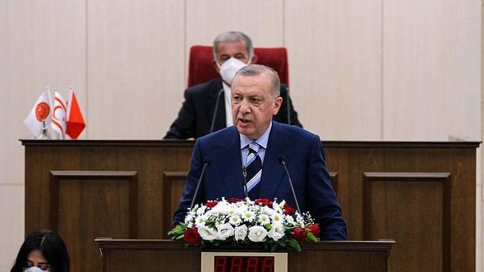 Video: Erdogan auf Zypern - ein symbolischer Besuch