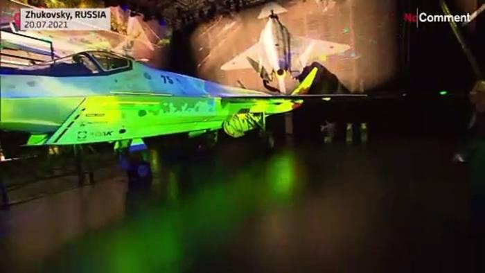 News video: Neuer Kampfjet für russisches Militär