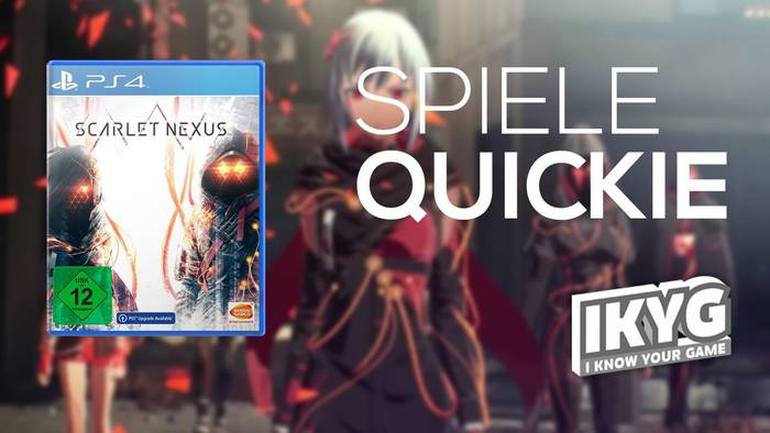 News video: Scarlet Nexus - Spiele-Quickie