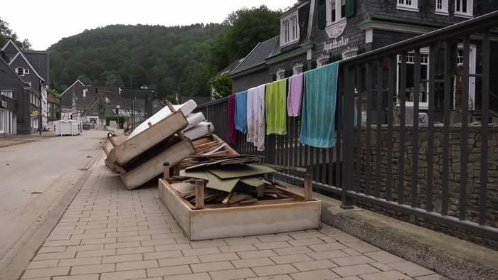 News video: Nach Hochwasser: Angst vor Corona in betroffenen Gebieten
