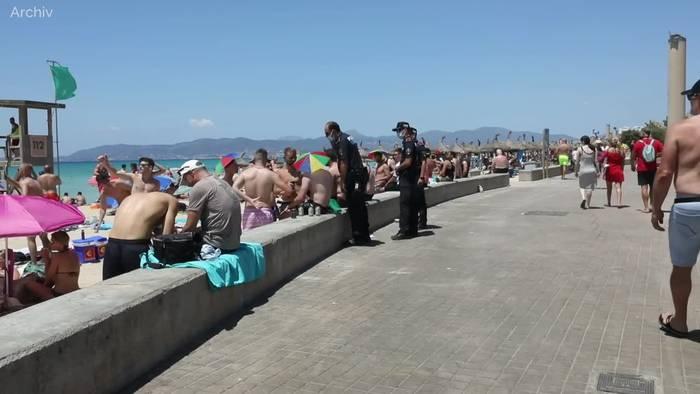 News video: Mallorca tritt wegen hoher Corona-Fallzahlen auf die