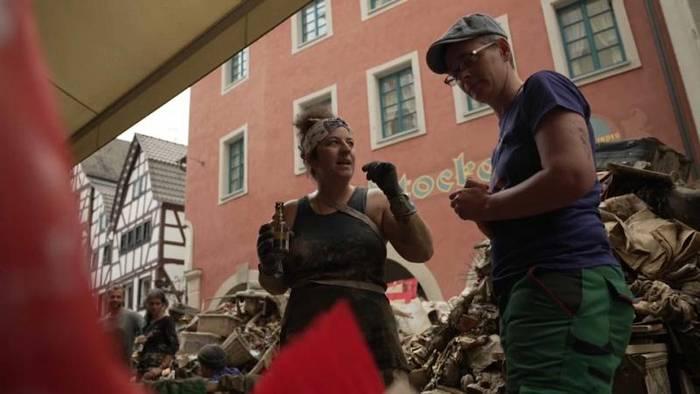 News video: Flutkatastrophe: Stunde des Zusammenhalts in der Voreifel