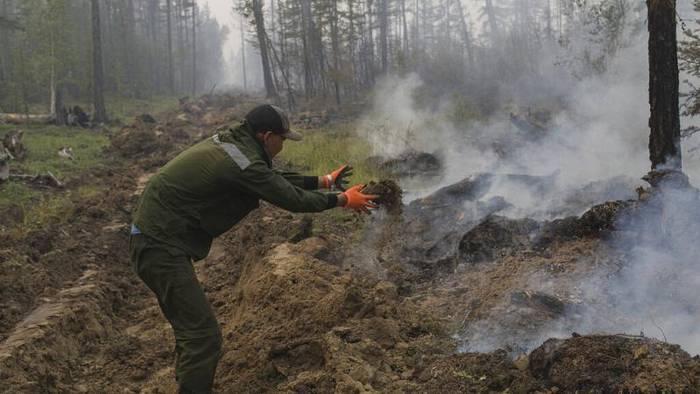 News video: Feueriges Russland