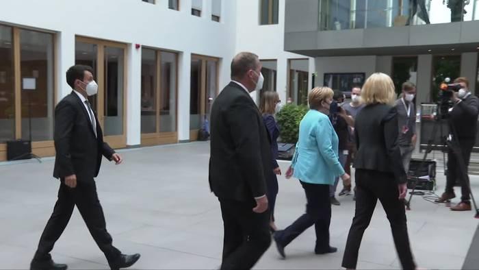 Video: Merkel zieht Bilanz: Fünf Krisen in meiner Amtszeit