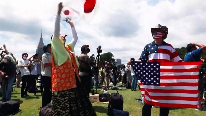 News video: Olympia: Superfan Kyoko Ishikawa lässt sich die Freude nicht verderben