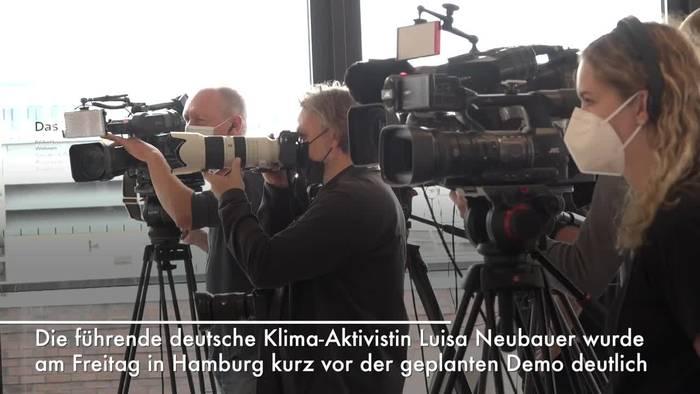 News video: Luisa Neubauer kritisiert Ignoranz bei Klimapolitik