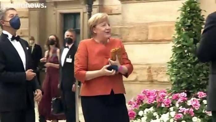 News video: Bayreuth 2021: So hat es Angela Merkel gefallen