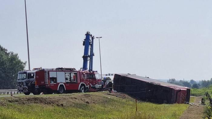 News video: Bus aus Frankfurt in Kroatien verunglückt: 10 Tote - schlimmstes Unglück seit 15 Jahren